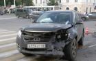 Авария на перекрёстке улиц Советская и Чичканова