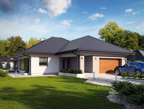 проекты красивых одноэтажных домов