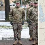 В четверг прошла официальная церемония встречи американского конвоя войск в Жагани в западной части Польши. НАТО пообещало разместить несколько тысяч военных в Восточной Европе, но после избрания президентом США Дональда Трампа в этом плане появилась неопределенность.