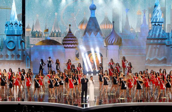 «Мисс Вселенная-2013» в Москве. Г-н Трамп продал российским девелоперам право на проведение «Мисс Вселенной» в этом году. Максим Шеметов / Reuters