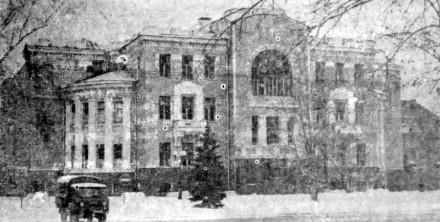 Здание дореволюционной постройки