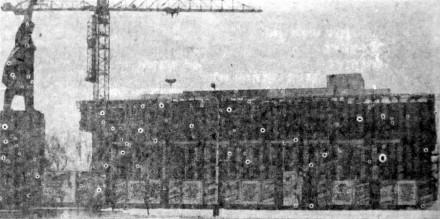 Здание доперестроечной закладки