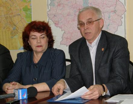 Тамара Плетнева и Николай Воробьев