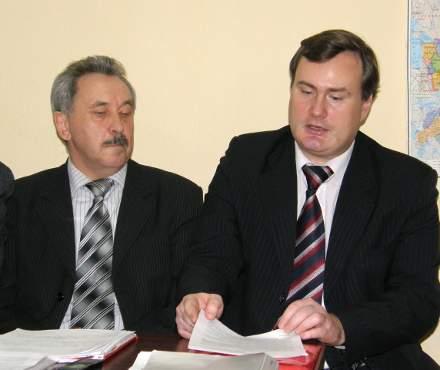 Виктор Полежаев и Павел Плотников