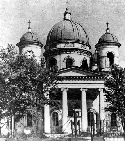 Преображенский собора В.П. Стасова в Санкт-Петербурге