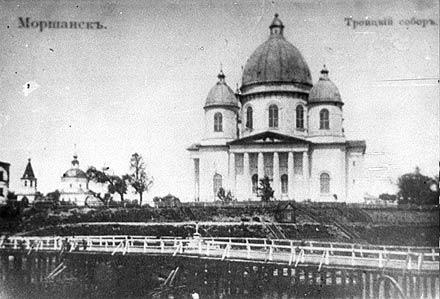 Троицкий собор в Моршанске. Часть 2