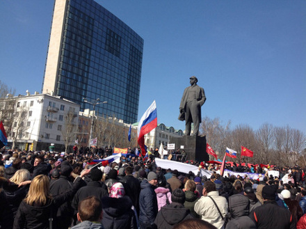 Донбасс шагает левой?