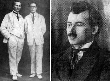 Слева: Ф.М. Кадичев и В.В. Желобинский